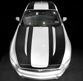 FORD MUSTANG 2015  -2017 OVER THE TOP SPORT STRIPES