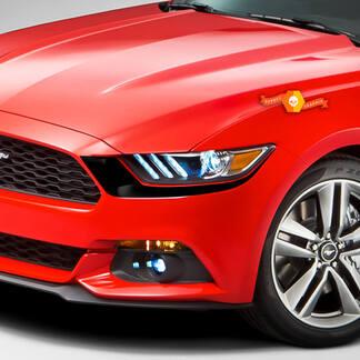 Ford Mustang 2015-2020 Koplamp voor accent Decals Stripes