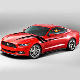 Ford Mustang 2015-2020 Fender Hash Lightning Seitenstreifen