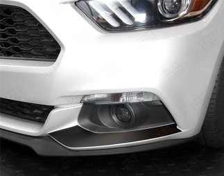 FORD MUSTANG 2015-2017 FRONT FOG LIGHTS ACCENT DECALS STRIPES