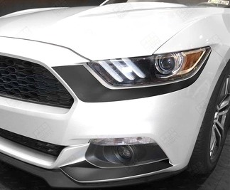 FORD MUSTANG 2015-2017 HEADLIGHT & FOG LIGHT ACCENT DECALS