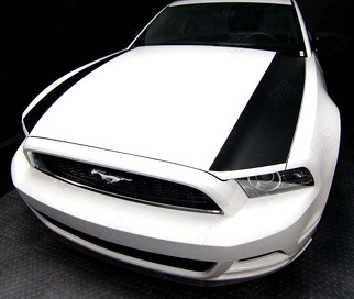 FORD MUSTANG 2013- 2014 HOOD SIDE ACCENT STRIPES
