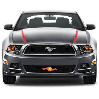 FORD MUSTANG 2013- 2020 HOOD SPEAR SIDE ACCENT STRIPES