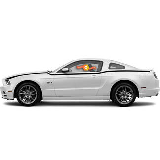 Ford Mustang 2013-2014 Side Javelin Stripes