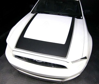 FORD MUSTANG 2013-2014 RTR STYLE HOOD ACCENT STRIPE DECAL