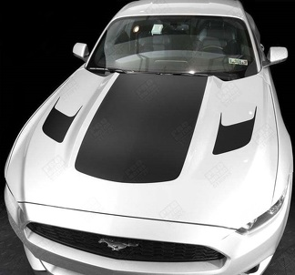 FORD MUSTANG 2015-2017 & 2005-2009 HOOD ACCENT DECALS STRIPES
