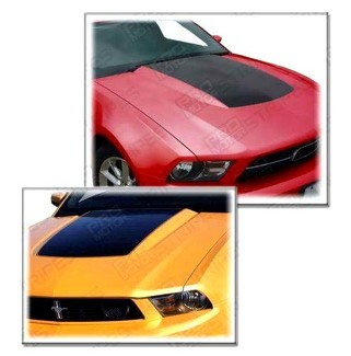 FORD MUSTANG 2010-2014 HOOD COWL BLACKOUT STRIPE DECAL
