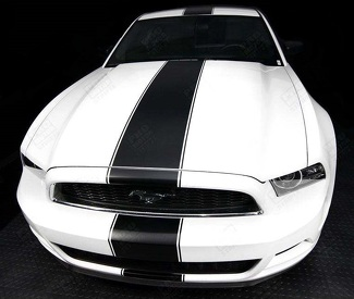 FORD MUSTANG 2005-2017 OVER-THE-TOP NARROW CENTER RALLY STRIPES