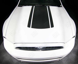 FORD MUSTANG 2005-2017 HOOD ACCENT STRIPE DECAL