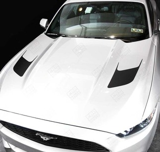 FORD MUSTANG 2005-2017 HOOD ACCENT DECALS