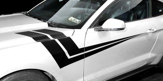 FORD MUSTANG 2005-2017 FENDER HASH EXTENDED SIDE STRIPES
