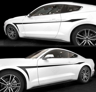 FORD MUSTANG 2005-2017 DEVIL'S TAIL SIDE ACCENT STRIPES
