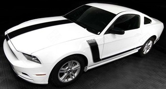 FORD MUSTANG 2005- 2017 BOSS 302 STYLE HOOD & SIDE STRIPES