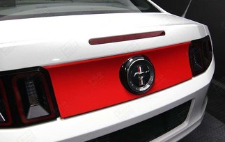 FORD MUSTANG 2005-2014 TRUNK REAR DECK OVERLAY STRIPE DECAL