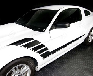 FORD MUSTANG 2005-2014 SIDE ACCENT STROBE STRIPES