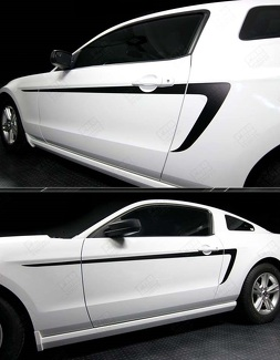 FORD MUSTANG 2005- 2014 SIDE ACCENT STRIPES