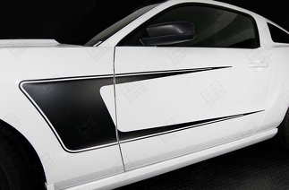 FORD MUSTANG 2005-2014 SIDE ACCENT C-STRIPES