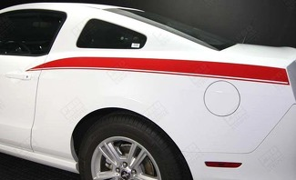 FORD MUSTANG 2005-2014 REAR QUARTER SIDE STRIPES