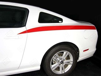 FORD MUSTANG 2005 -2014 REAR QUARTER SIDE STRIPES
