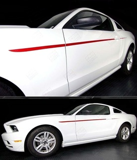 FORD MUSTANG 2005-2014 JAVELIN SIDE ACCENT STRIPES