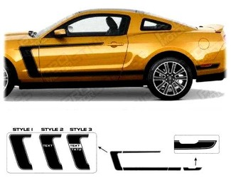 FORD MUSTANG 2005-2009 BOSS 302 STYLE REVERSE C-STRIPES