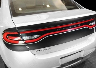 DODGE DART 2013-2018 REAR DECK ACCENT BLACKOUT STRIPES