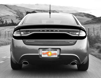 DODGE DART 2013-2020 REAR DECK ACCENT BLACKOUT STRIPES