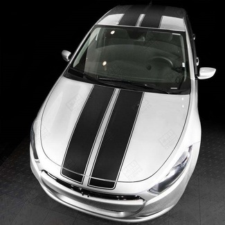 DODGE DART 2013-2018 OVER THE TOP SPORT DOUBLE STRIPES