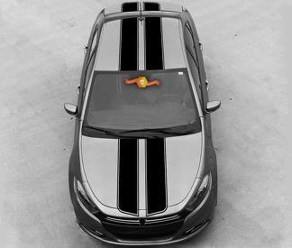 DODGE DART 2013-2020 OVER THE TOP SPORT DOUBLE STRIPES