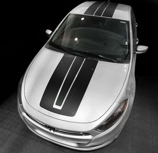 DODGE DART 2013-2018 OVER THE TOP SPORT ACCENT STRIPES