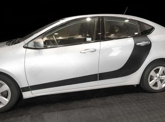 DODGE DART 2013- 2018 DOOR ACCENT SIDE HOCKEY STRIPES