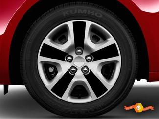 DODGE DART 2013-2018 - WHEEL SPOKE OVERLAY DECALS FOR 16
