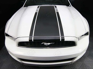 FORD MUSTANG 2005-  2017 HOOD ACCENT STRIPE DECAL