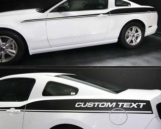FORD MUSTANG 2005- 2014 JAVELIN SIDE ACCENT STRIPES
