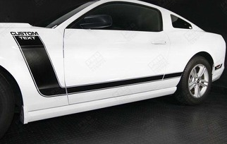 FORD MUSTANG 2005-2014 BOSS 302 STYLE SIDE STRIPES