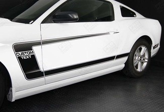 FORD MUSTANG 2005-2014 BOSS 302 STYLE SIDE C-STRIPES