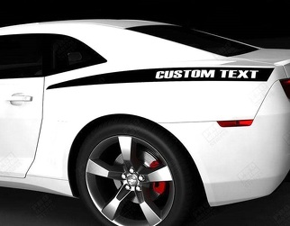 CHEVROLET CAMARO 2010-2015 REAR QUARTER SIDE ACCENT STRIPES