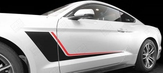 FORD MUSTANG 2005-2017 DUO COLOR SIDE ACCENT STRIPES RSH10