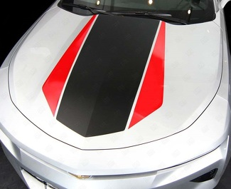 CHEVROLET CAMARO 2016-2018 (RS,LT) FRONT AND REAR 2-TONE STRIPES
