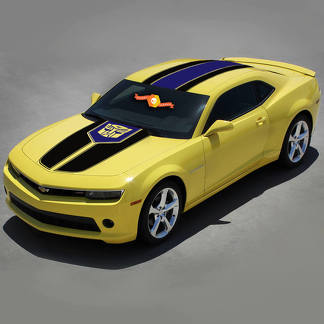 CHEVROLET CAMARO 2010-2015 MULTI-COLOR RACING Transformer Style STRIPES