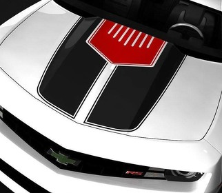 CHEVROLET CAMARO 2010-2015 TWO TONE HOOD ACCENT STRIPES