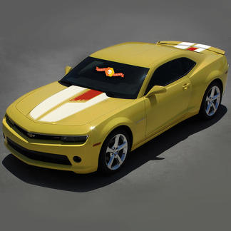 CHEVROLET CAMARO 2010- 2015 45TH ANNIVERSARY STYLE 2 colors STRIPES