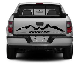 Rear HONDA RIDGELINE  vinyl body decal sticker graphics emblem logo