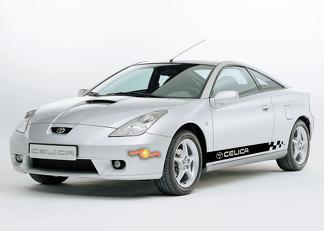 TOYOTA CELICA 2x side stripes body decals graphics sticker vinyl premium quality#2