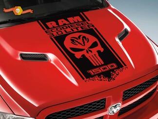 DODGE RAM HEMI 1500 / 3.0 DIESEL HOOD & FENDER DECAL Grafik Vinyl Aufkleber