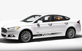 ford fusion 2X side body decal vinyl graphics racing sticker hight quality