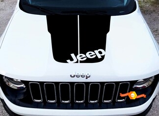 2018 Jeep Cherokee Trailhawk Vinyl Hood Decal Sticker Graphic