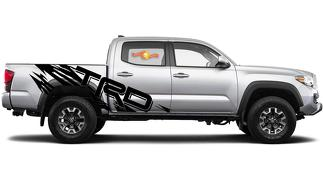TRD RIPPED-Bed Graphics Vinyl Decal Sets for Toyota, Trucks, Custom  vinyl decals stickers