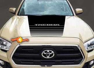 TOYOTA TACOMA VINYL HOOD DECAL STICKER GRAPHICS STRIPE 2016-2019