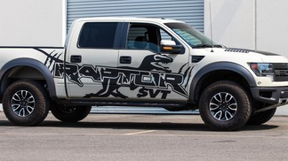 2 Side F-150 Ford Raptor SVT Digital Paint WRAP Splash Decal Graphics stickers chatter